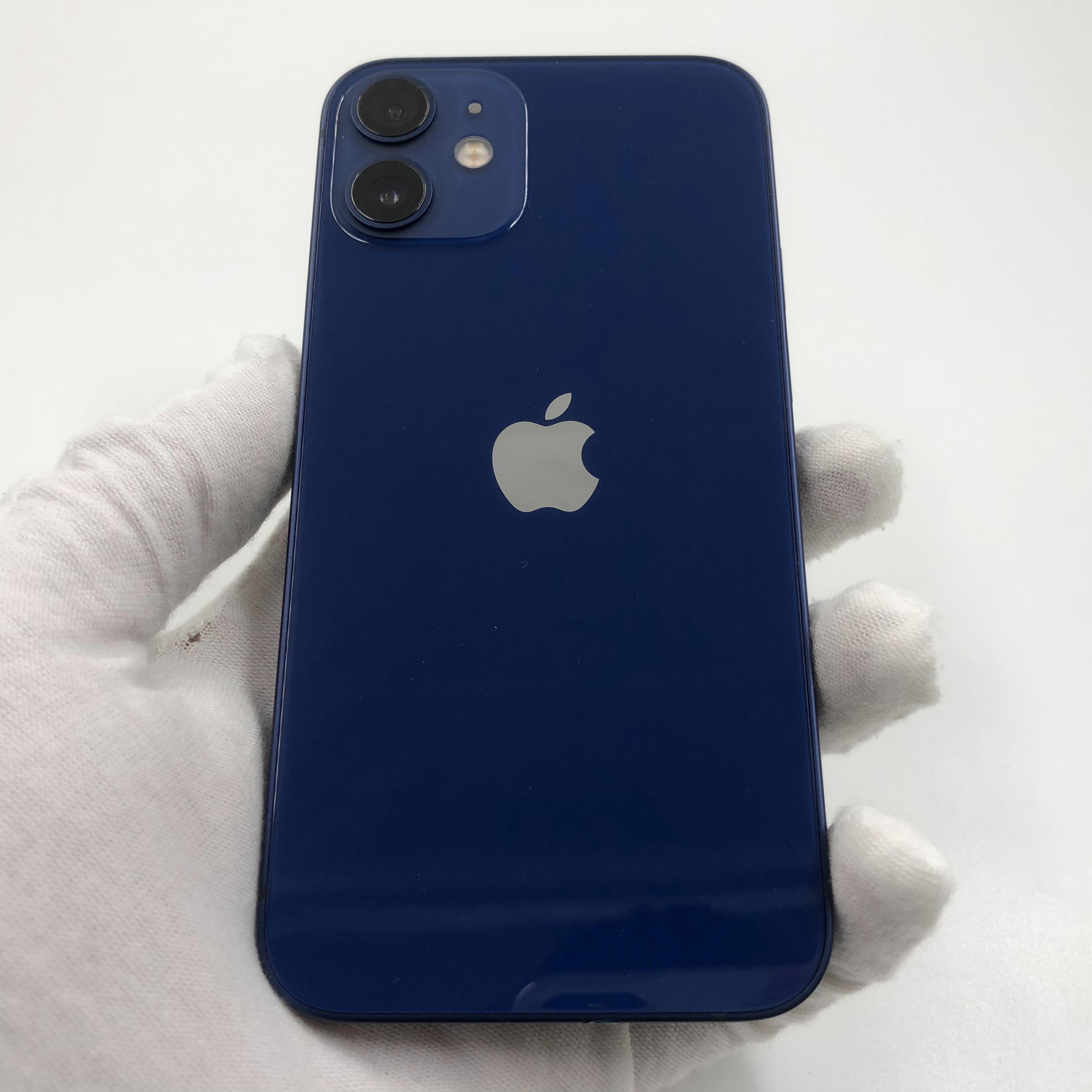 苹果【iPhone 12 mini】5G全网通 蓝色 64G 国行 95新 真机实拍官保2022-01-02
